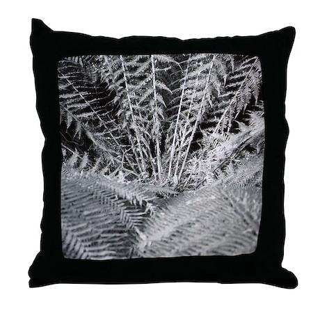Silver Fern in the Otways Throw Pillow