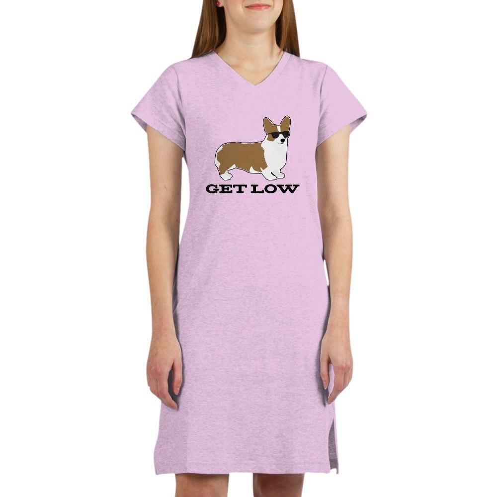 CafePress Get Low Corgi Nightshirt 260735037