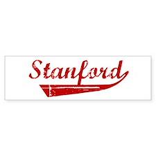 Stanford (red vintage) Bumper Bumper Sticker
