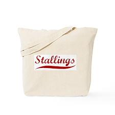 Stallings (red vintage) Tote Bag