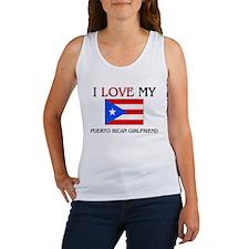 I Love My Puerto Rican Girlfriend Women's Tank Top