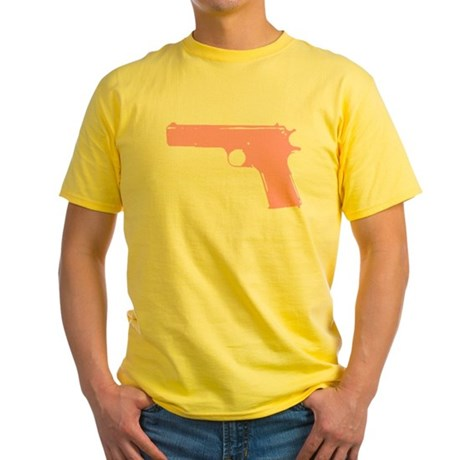 Pink .45 Yellow T-Shirt