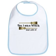 Yes I am a Witch Bib