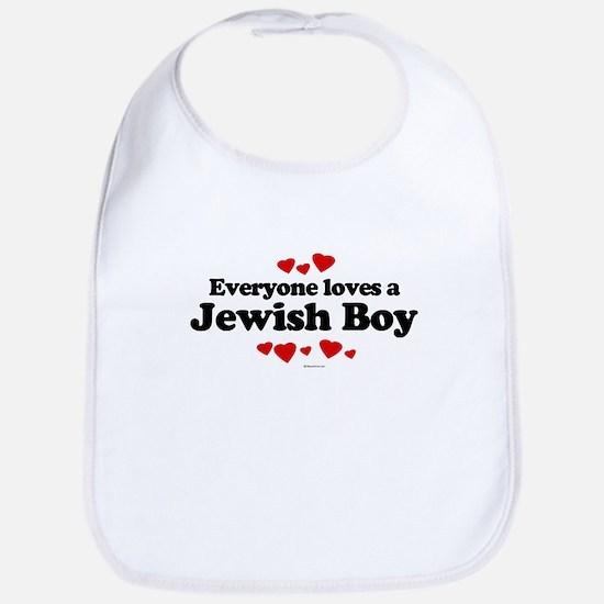 Everyone loves a Jewish Boy ~  Bib
