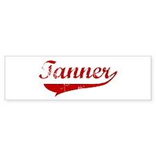 Tanner (red vintage) Bumper Bumper Sticker