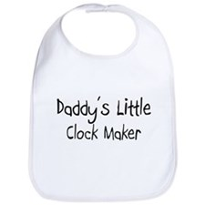 Daddy's Little Clock Maker Bib