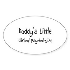 Daddy's Little Clinical Psychologist Decal