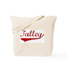 Talley (red vintage) Tote Bag