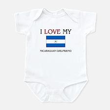 I Love My Nicaraguan Girlfriend Infant Bodysuit