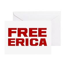 Free Erica Greeting Card