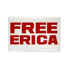 Free Erica Rectangle Magnet