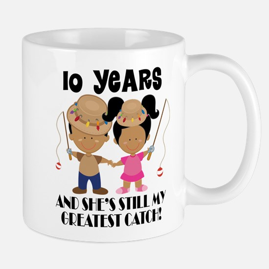 10th Anniversary Matching Mugs