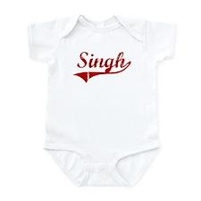 Singh (red vintage) Infant Bodysuit