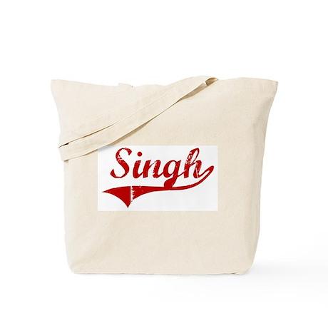 Singh (red vintage) Tote Bag