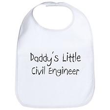 Daddy's Little Civil Engineer Bib