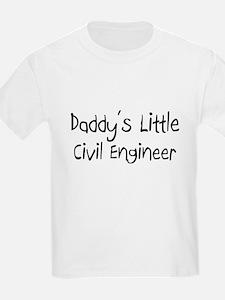 Daddy's Little Civil Engineer T-Shirt