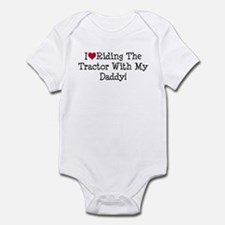 Tractor With My Daddy Infant Bodysuit