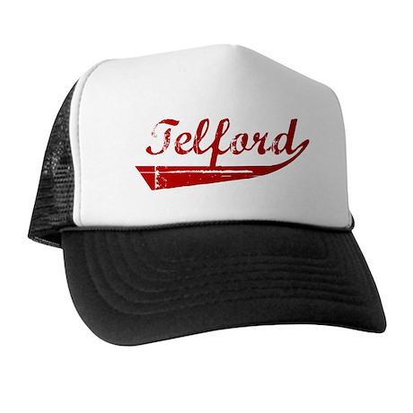 Telford (red vintage) Trucker Hat