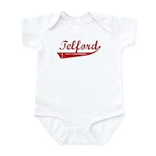 Telford (red vintage) Infant Bodysuit