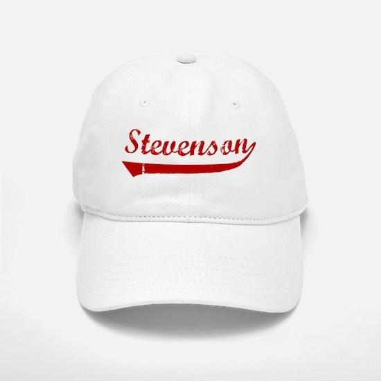 Stevenson (red vintage) Baseball Baseball Cap