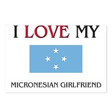 I Love My Micronesian Girlfriend Postcards (Packag