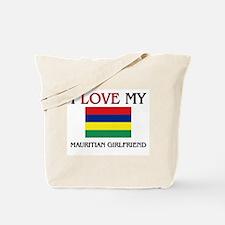 I Love My Mauritian Girlfriend Tote Bag
