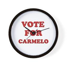 Vote for CARMELO Wall Clock