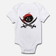 Pirate Baby - Bandana - Infant Bodysuit