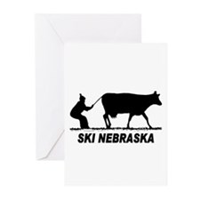 Ski Nebraska Greeting Cards (Pk of 20)