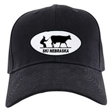 Ski Nebraska Baseball Hat