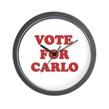 Vote for CARLO Wall Clock