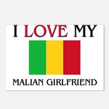 I Love My Malian Girlfriend Postcards (Package of