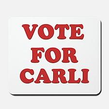 Vote for CARLI Mousepad