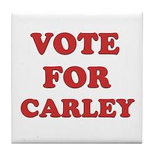 Vote for CARLEY Tile Coaster