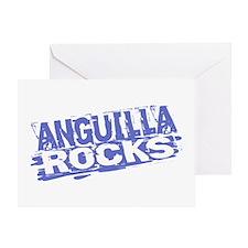 Anguilla Rocks Greeting Card