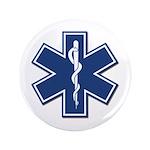 """EMT Rescue 3.5"""" Button (100 pack)"""