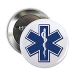 """EMT Rescue 2.25"""" Button (100 pack)"""