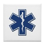 EMT Rescue Tile Coaster