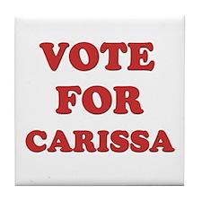 Vote for CARISSA Tile Coaster