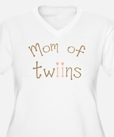 Mom of Twin Girls Twiin T-Shirt