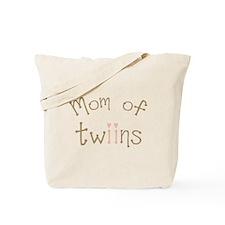 Mom of Twin Girls Twiin Tote Bag