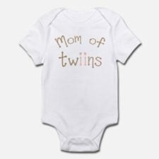 Mom of Twin Girls Twiin Infant Bodysuit