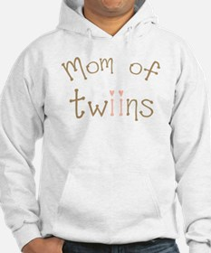Mom of Twin Girls Twiin Hoodie