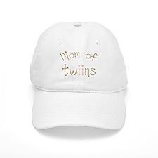 Mom of Twin Girls Twiin Baseball Cap