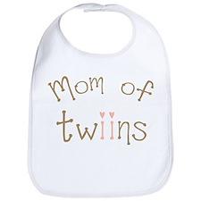 Mom of Twin Girls Twiin Bib
