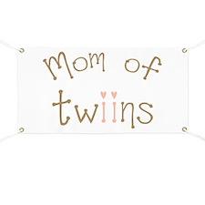 Mom of Twin Girls Twiin Banner