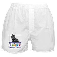 Adopt a Scottie Boxer Shorts