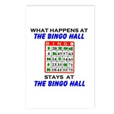 BINGO HALL Postcards (Package of 8)
