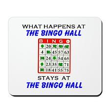 BINGO HALL Mousepad