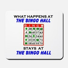 BINGO HALL Mousepad